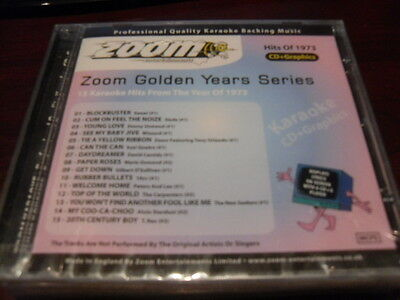 Zoom Karaoke Golden Years Series 1973 Cdzm3073 Cd+G