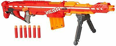 NERF N-Strike Elite Centurion Mega Blaster, Foam Darts, Kid, Toy Gun, Red, Rifle