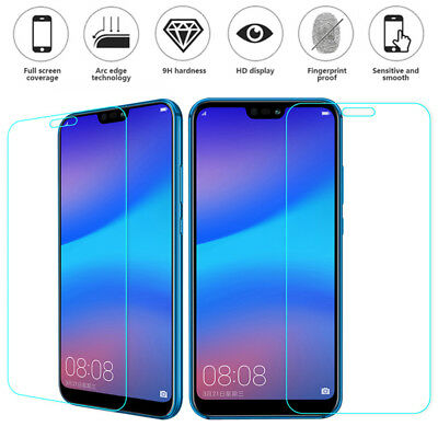 Genuine-100% Tempered Glass Screen Protector Film Fr Huawei Mate P9 P10 Lite P20