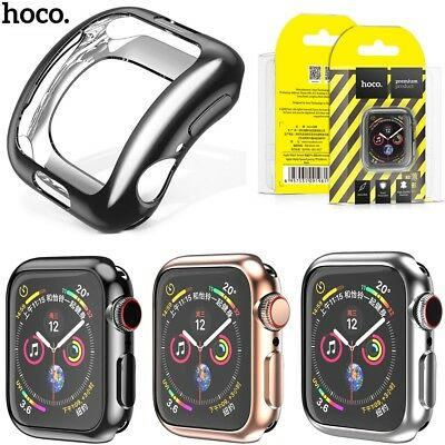 HOCO Plated TPU Protect Cover for Apple Watch Series 4 Case 40/44mm Shell Bumper