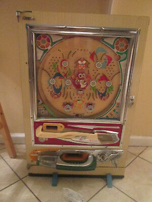 Vintage PACHINKO Machine WITH Balls ,, NEED INFO MAKER YEAR, HELP )))))