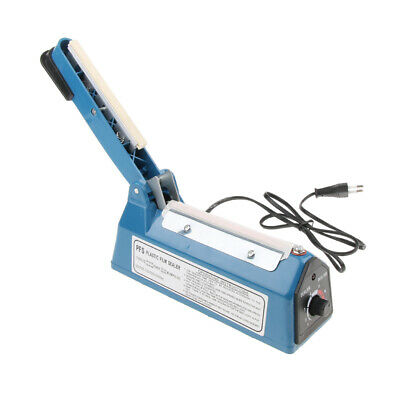 Heat Sealer Plastic Bag Sealing Machine Commercial Type Europlug 4'' 220V