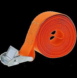 2x Sangles orange de Fixation Sangle d'Arrimage Ceinture Max.100kg - 3.5m