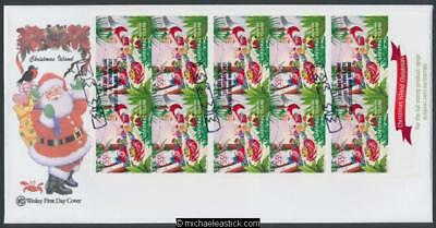 31-Oct-2011 Christmas Island Christmas Booklet First Day Cover