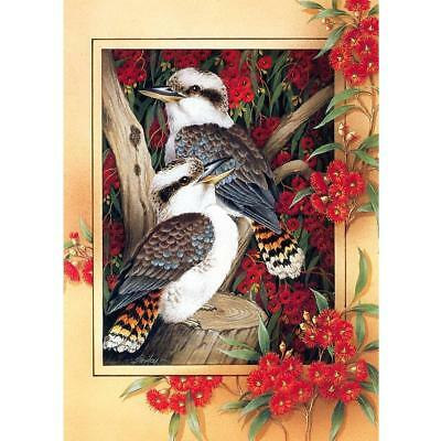 AU 5D DIY Full Drill Diamond Painting Parrot Cross Stitch Embroidery Art Craft