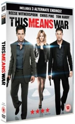 This Means War (Tom Hardy, Reese Witherspoon, Chris Pine) New Region 4 DVD