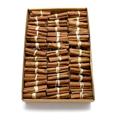 50x Cinnamon Sticks Bundled on Wire 8cm,Profipack,Cinnamon,Dekozimt