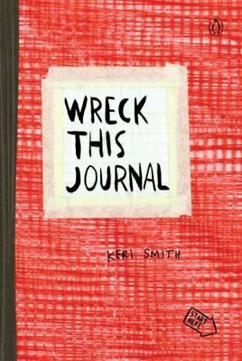 Wreck This Journal (Red) by Keri Smith 9780399162725 (Paperback, 2013)