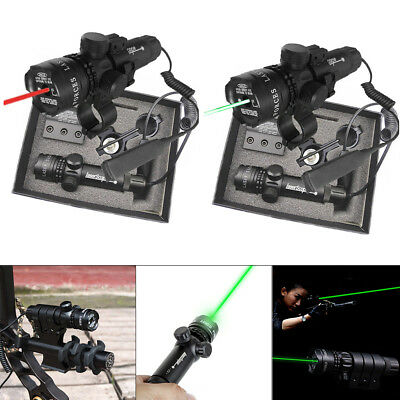 Laser Sight Pro Tactical Adjusted Hunting Rifle Green / Red Torch Outside Tool