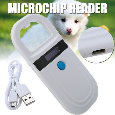 ISO FDX-B Animal Chip Dog Reader RFID Microchip Pet Scanner 134.2kHz/125kHz