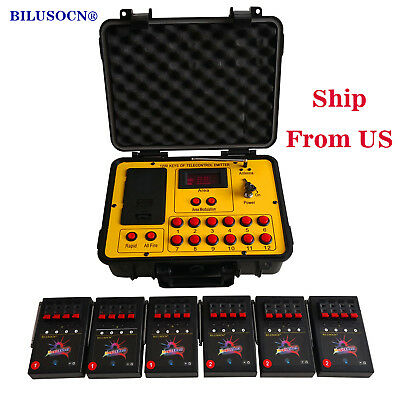 24 cues fireworks firing system  120 cues wireless control 500M distance program