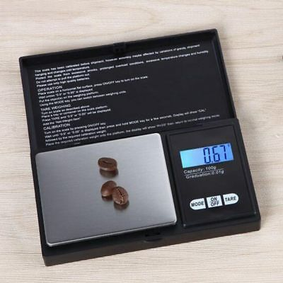 500X 0.01g Digital Pocket Scale Precision Jewellery Balance gram Scales Weight