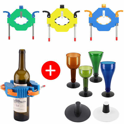 New Glass Bottle DIY Cutter Wine Bottles Jar Cutting Machine Recycle Tool Kit