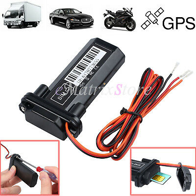 Mini Waterproof Car GPS Tracker Realtime GPRS GSM For Car Motorcycle Tracking