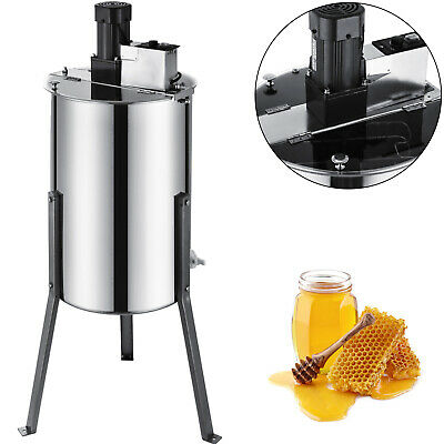 3/6 Frame Electric Honey Extractor Stainless Steel Beehive Drum Bee Equipment