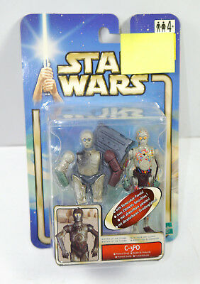 STAR WARS Attack of the Clones - C-3PO Droid Actionfigur HASBRO Neu (LR25) Z2