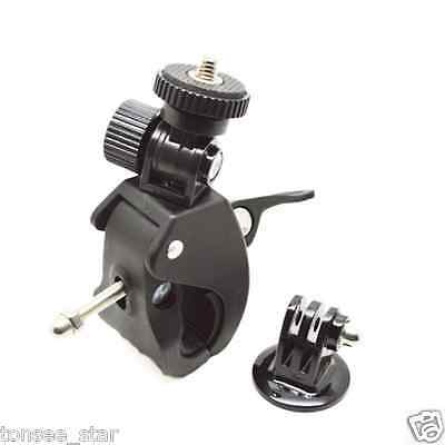 Bicycle Motorcycle Handlebar Seatpost Pole Mount Holder for Gopro Hero