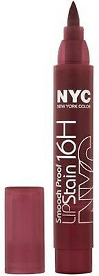Nyc Smooch Proof 16H Lip Stain 499 Forever Mine Wine Matte Finish New Sealed
