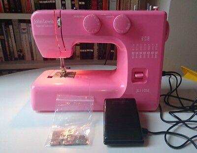 NEW John Lewis JL110SE sewing machine Janome pink  electric medium use