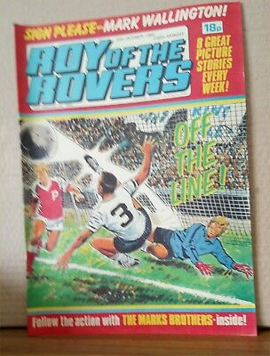 Roy of the Rovers Comic in very good condition dated 23rd October 1982