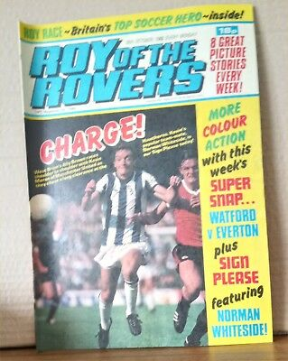 Roy of the Rovers Comic in very good condition dated 30th October 1982