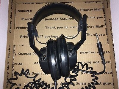 1980's VINTAGE SONY DR-S3  DYNAMIC STEREO HEADPHONES MADE IN JAPAN