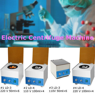 LD-3 LD-4 Electric Benchtop Centrifuge Lab Medical Practice Machine 4000 r/min