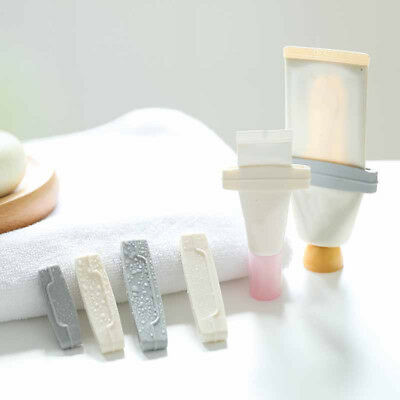 3pcs Toothpaste Squeezer Toothpaste Tube Dispenser Clip Cleanser ExtruderClampCL