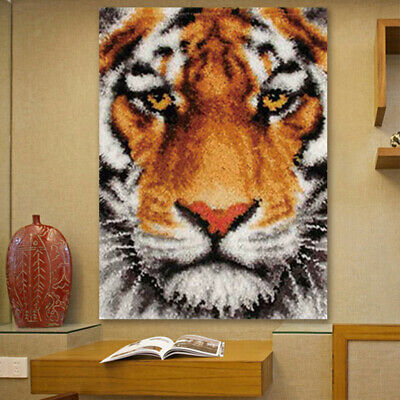 Latch Hook Kits Rug Tapestry Needlework Crafts with Instruction for Kids Adults
