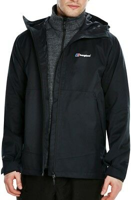 Berghaus Fellmaster Gore-Tex Mens Shell Jacket - Black