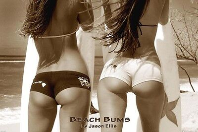 Beach Bums Poster Vintage Playboy Model Hot Sexy Rare 2015 Hot Asses Bums