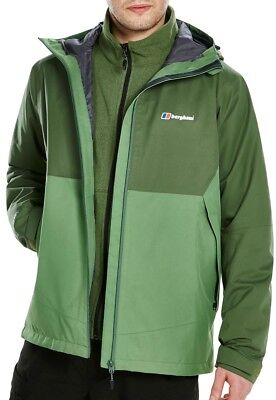 Berghaus Fellmaster Gore-Tex Mens Shell Jacket - Green