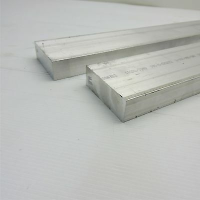 "1"" x 3"" Aluminum Solid 6061 FLAT BAR 22""Long mill stock Pieces 2 sku A524"