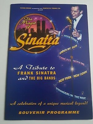The Magic of Sinatra concert programme