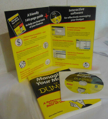 Home Budget for Dummies Software and Reference Book