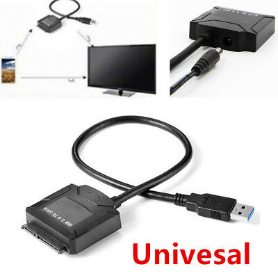 Durable USB3.0 IDE SATA System Hard Drive HDD SDD Converter Adapter Cable Plug