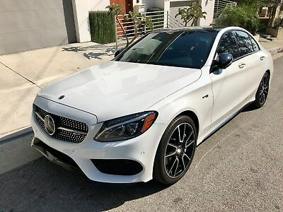 2017 Mercedes-Benz C-Class AMG, Night Package P3 Package Mercedes-Benz c43 amg P3 Package Night Package Loaded Extremely Clean Low Miles