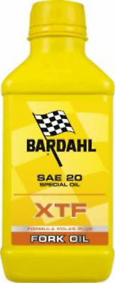 Un flacone Olio Bardahl XTF Fork Special Oil 20W SAE 20 Olio Forcelle - 500 ml