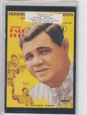 Babe Ruth Sports Classics Personality Comic Book (1991)