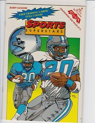 Barry Sanders Sports Superstars Comic Book (1992)Revolutionary