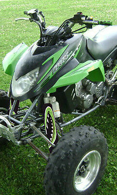 Atv,shock Cover,protecteur D'amortisseur,vtt,arctic Cat,suzuki,green Monster
