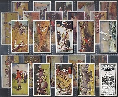 Collins-Full Set- Sports & Pastimes (25 Cards) Golf - Exc+++