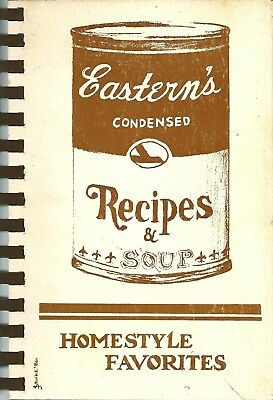 Eastern Airlines Cookbook - Oak Brook, Illinois - Homestyle Favorites - 1986
