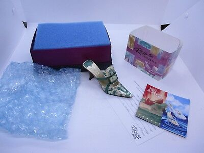 Jtrs Raine Just The Right Shoe Evening Emerald 25175 With Box