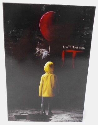 """NECA IT - 7"""" Scale Action Figure - Ultimate Pennywise (2017) *Outer Box Damage C"""