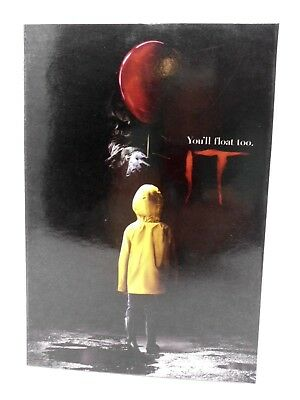 """NECA IT - 7"""" Scale Action Figure - Ultimate Pennywise (2017) *Outer Box Damage D"""