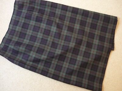 Vintage Gor-Ray Pure Wool Plaid Skirt Size 20