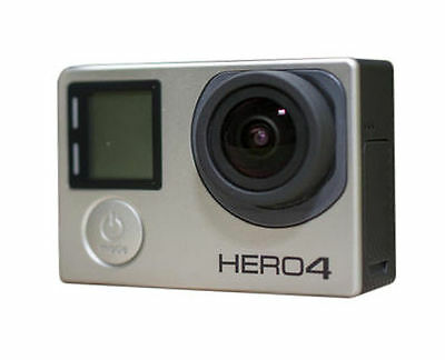 GoPro HERO4 Silver Edition 4K Waterproof Camera TouchScreen LCD w/ Accessories