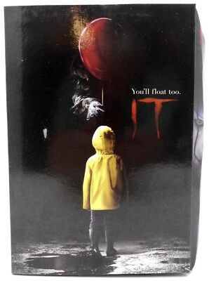 """NECA IT - 7"""" Scale Action Figure - Ultimate Pennywise (2017) *Outer Box Damage E"""