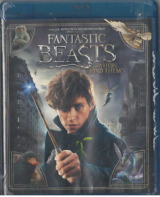 FANTASTIC BEASTS AND WHERE TO FIND THEM(Blu-ray/DVD,2017,2-Disc,Digital Copy)NEW